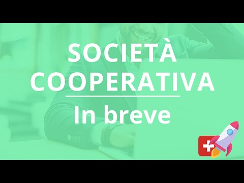 La Società cooperativa in breve