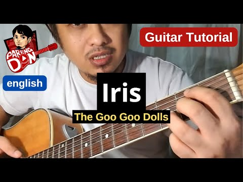 Guitar tutorial: IRIS - Goo Goo Dolls (Chords) No Capo