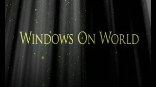 Windows On World (Beam of lights and particles with After Effects)