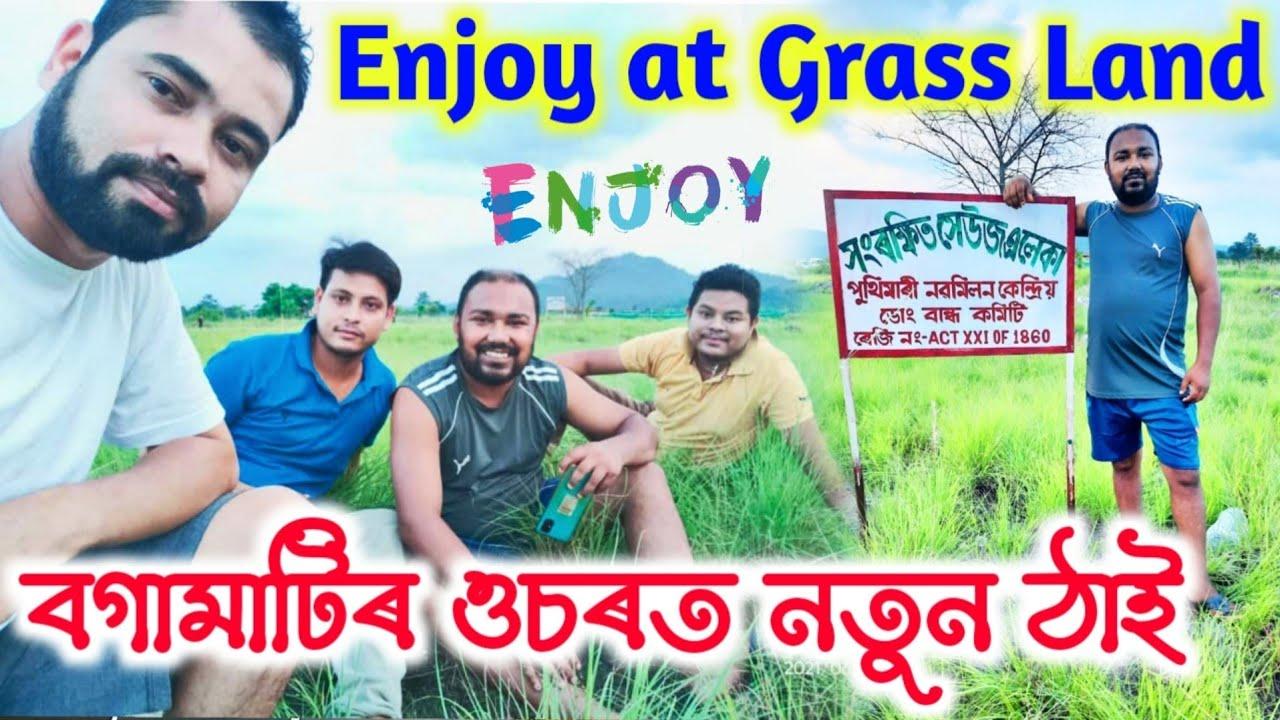 Enjoy at GrassLand,  Assamese Vlog , Suven kai video,  Telsura Video