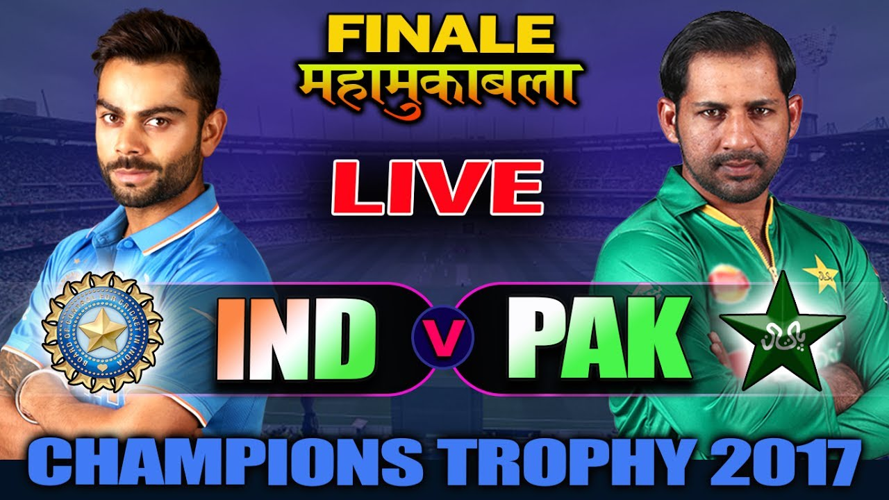 India vs Pakistan Live Cricket Score, Champions Trophy 2017 Final: Virat Kohli ...