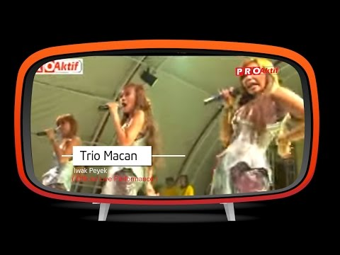 Trio Macan - Iwak Peyek (Official Karaoke Video)