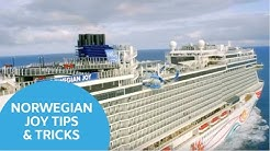 Norwegian Joy Tips & Tricks - Virtual Cruise Event