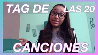 TAG DE LAS 20 CANCIONES | Alondra Michelle