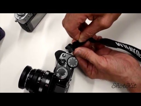 How to Attach a Camera Strap with No Loose Ends Flapping Around