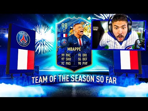 OMG I PACKED 98 TOTS MBAPPE!! WTF!! FIFA 20