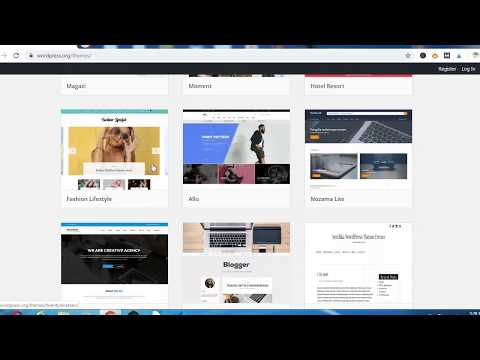 How To Make a WordPress Website WordPress tutorial thumbnail