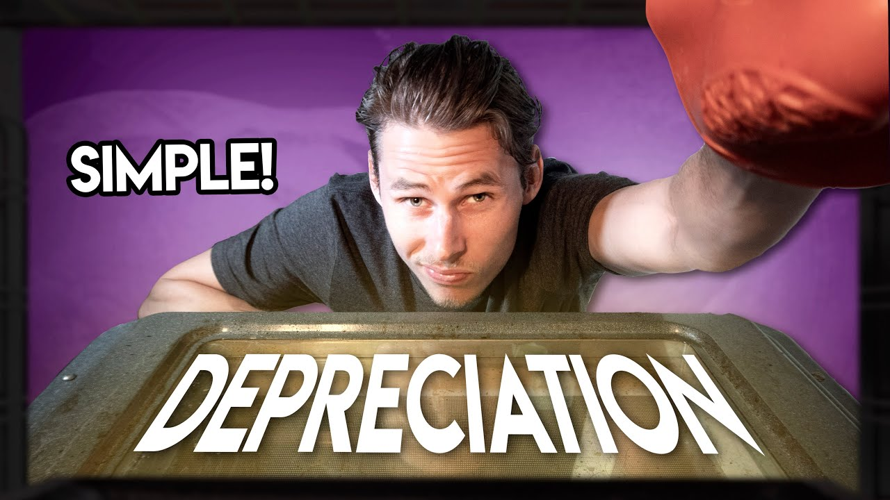 DEPRECIATION BASICS! With Journal Entries
