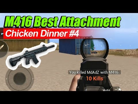 CHICKEN DINNER #4 - M416, The Best AR in Miramar - Pubg Mobile - 동영상