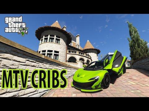 GTA 5 MODS ONLINE - GHETTO MTV CRIBS - HD