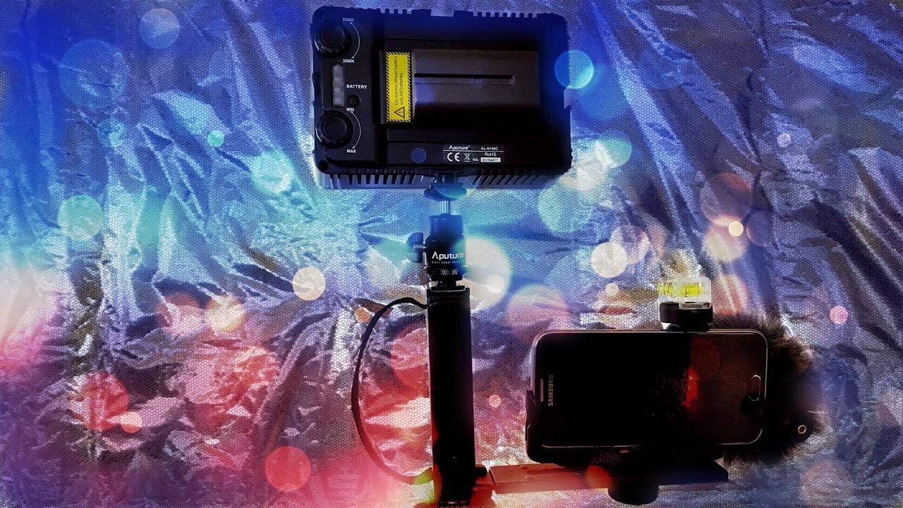 Kit pentru filmarea cu telefonul mobil II