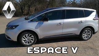 Renault Espace V. Большой обзор и тест драйв.  Стоит ли брать?