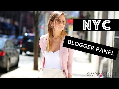 Simply Stylist NYC Bloggers Panel