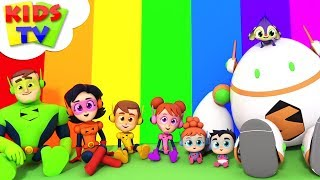 Colors Of The Rainbow Song | The Supremes | Kindergarten Learning & Children Rhymes - Kids TV