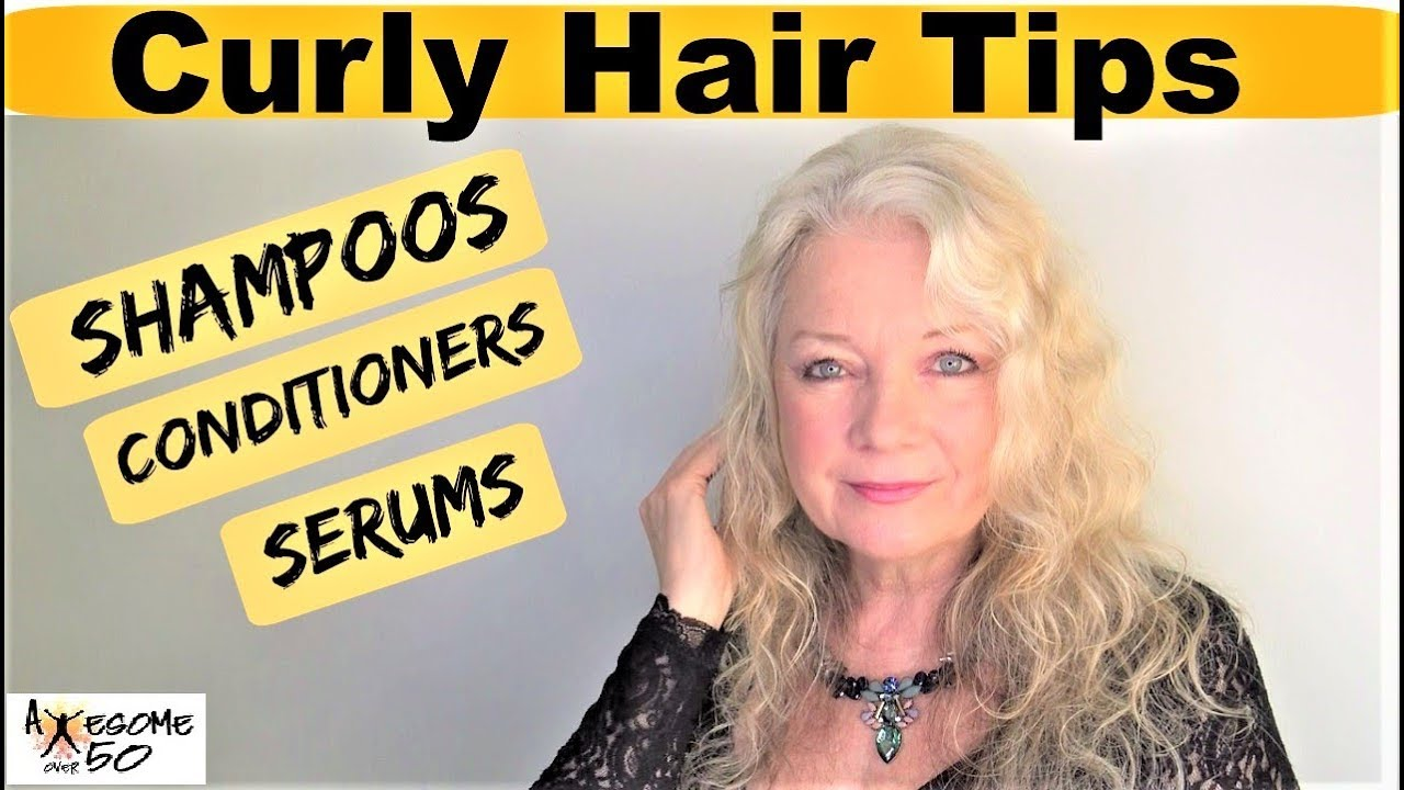 Womens Curly Hair Tips Shampoo Conditioner No Frizz Styling - Scrunch hair hair styling tips