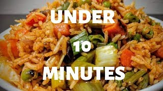 How to Make Simple Veg Rice  in Tamil
