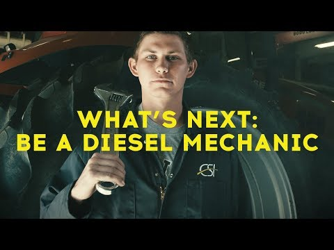 What's Next: Be a Diesel Mechanic
