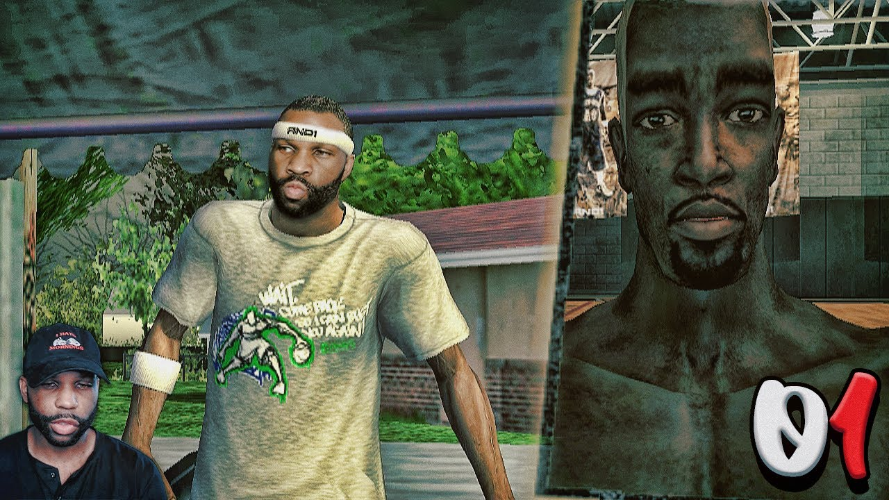 """""""AND 1 Streetball"""" Video Game Part 1 – THE CREATION OF SLINKY"""