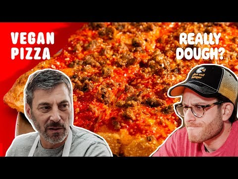 Vegan Pizza: Is Pizza Without Cheese Really Pizza?    Really Dough?