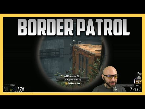 Border Patrol - Three Intense Rounds Of Snipers vs Runners (Black Ops 2)