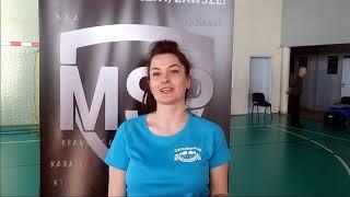 Weronika o szkoleniu MSP w Mławie