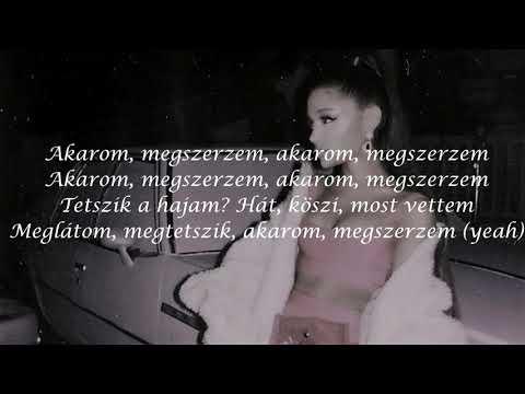 Ariana Grande - 7 rings magyar dalszöveg