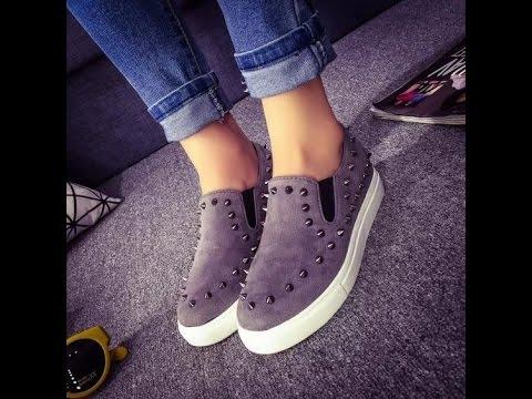 542002eb1 أحدث أحذية بناتية روعة - احذية بنات جديدة 2017 Ladies Flats ...