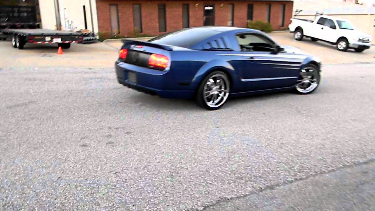 Mustang Gt Premium >> 2007 Mustang GT with QTP Electric Exhaust Cutouts--Part 2 - YouTube