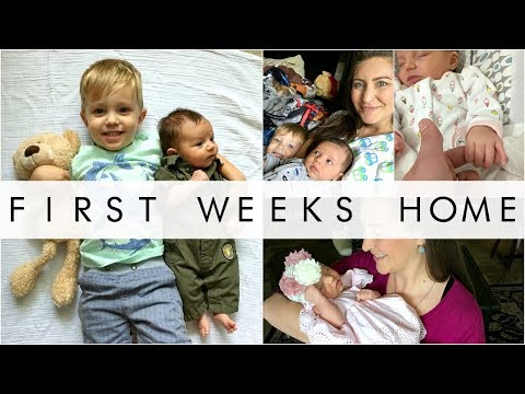 First Weeks Home With A Newborn