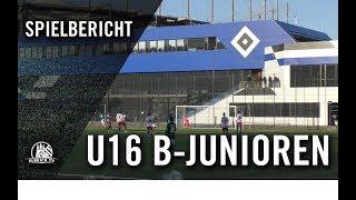 Hamburger SV II U16 - VfB Lübeck U16 (13. Spieltag, Regionalliga Nord)