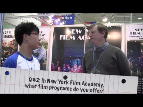 2015 Spring AIEF Fair @ COEX, Seoul-New York Film Academy