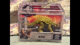 This is my review of the Jurassic World Fallen Kingdom Minmi By Mat...