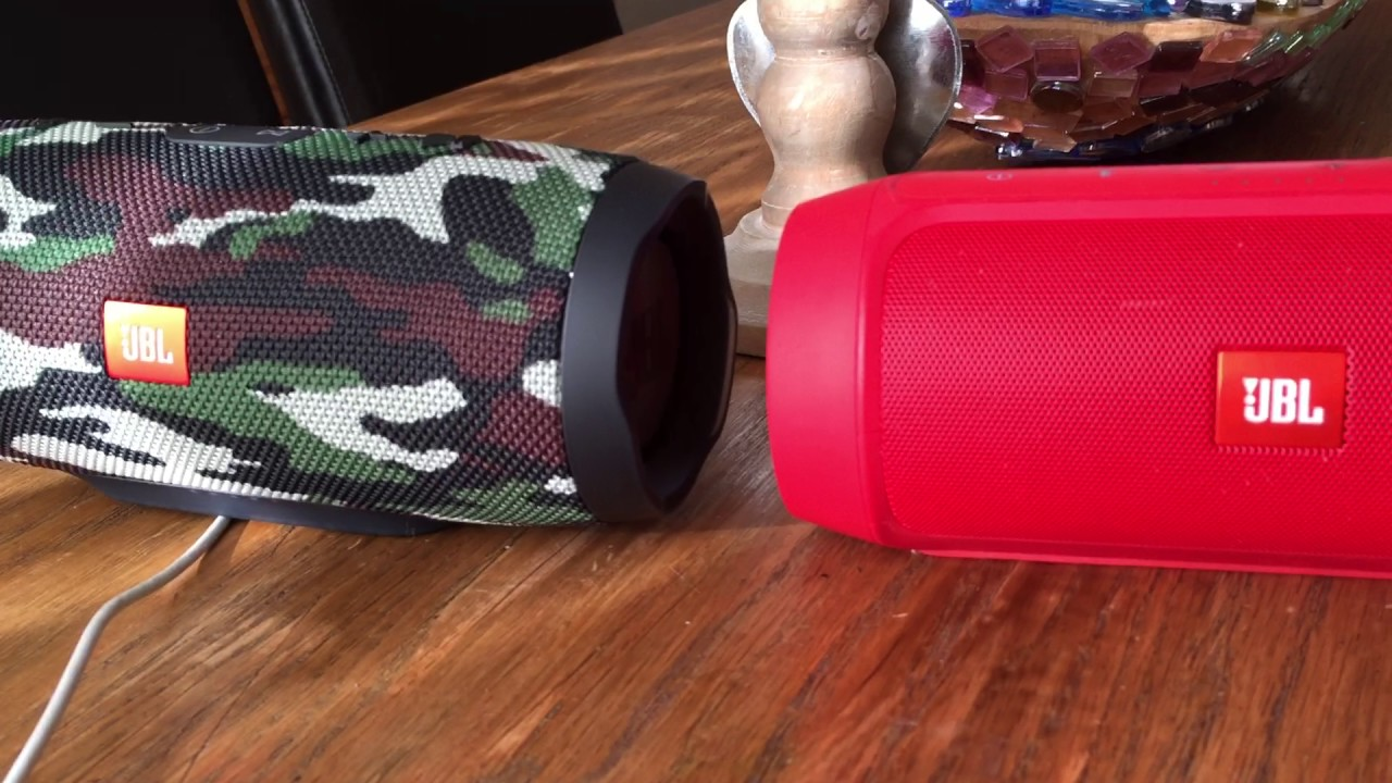 Jbl charge 3 camouflage vs jbl charge 2 red youtube - Jbl charge 2 vs charge 3 ...