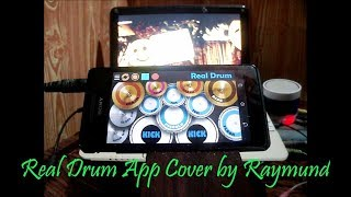 Silent sanctuary - ikaw lamang (real drum app cover by raymund)