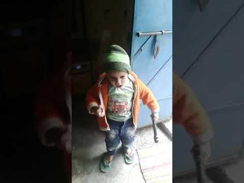 Funny video-Little sunny deol shahab....YE MAJDOOR KA HATH HAI KATIYA DIALOGUE😂