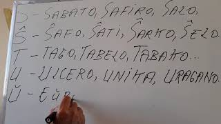 Alfabeto Esperanto