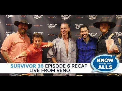 Survivor Know-It-Alls   Ghost Island Episode 6 Recap LIVE From RENO