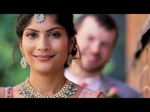 Indian and American Wedding  | Melrose Knitting Mill // Raleigh, NC