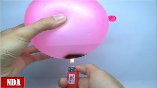 Repeat youtube video 5 Amazing Life Hacks with Balloon