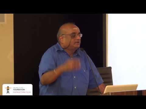 Prof  R  Vaidyanathan, IIM Bangalore, speaks at Moneylife Foundation's 250th event
