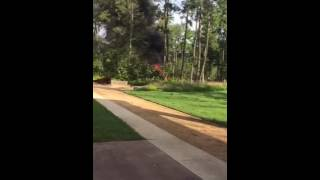 The Groves Dump Truck Wreck and Fire (part 2)