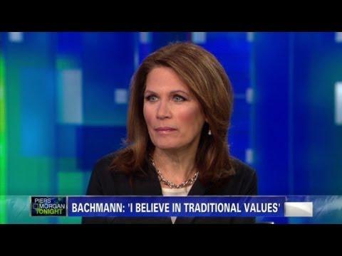 "Michele Bachmann calls Piers Morgan ""rude"""