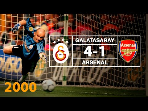 Galatasaray 4 Arsenal 1 UEFA Cup Final