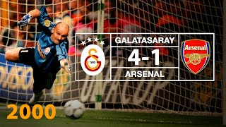 Galatasaray 4-1 Arsenal | UEFA Cup Final (2000)