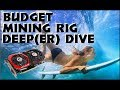 Budget Mining Rig Deep Dive, Hashrates, Lessons Learned, Hat Showcase