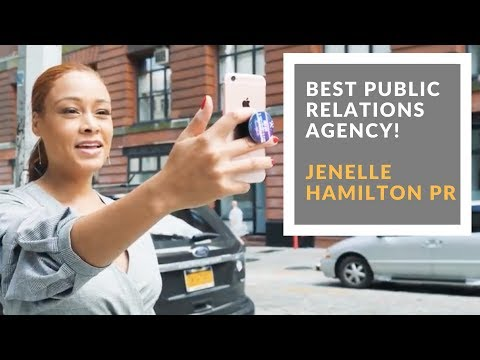 BEST PR AGENCY I JENELLE HAMILTON PUBLIC RELATIONS
