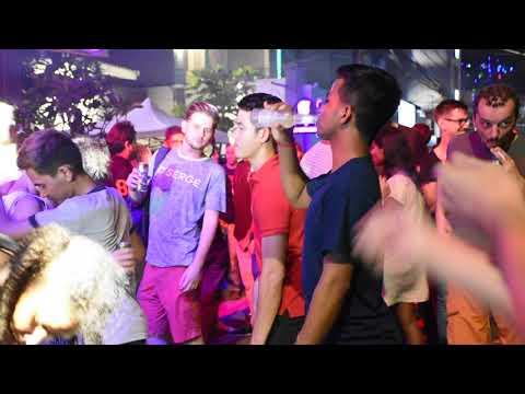 Street Halloween Party at Sabay Sabay Street