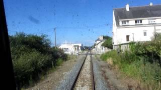 Tire bouchon en gare de Plouharnel-Carnac