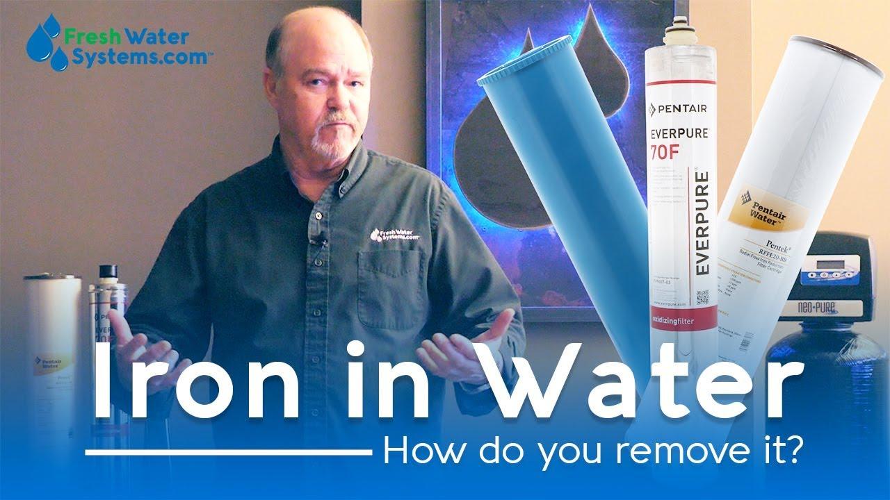 Comment enlever le fer de l'eau de puits