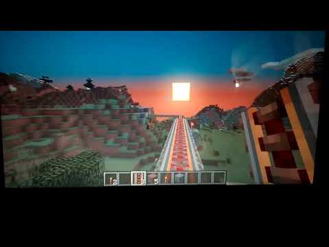 Minecraft Powerd Rail Part 1